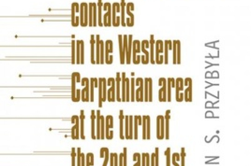 Intercultural contacts in the Western Carpathian area at the turn of the 2nd and 1st millennia BC