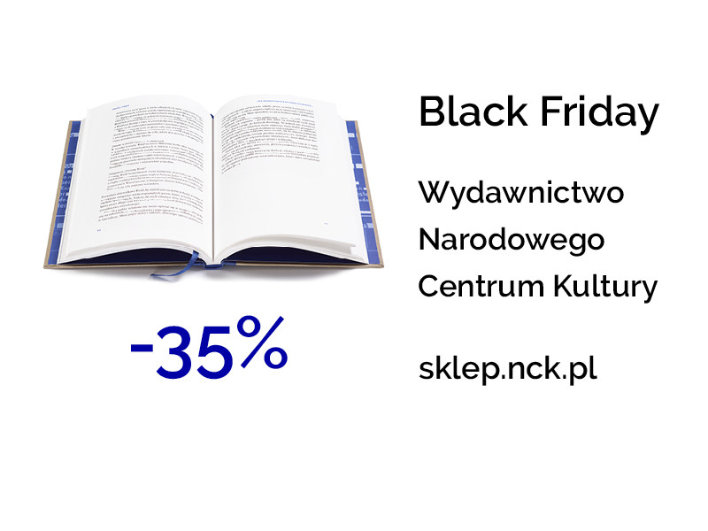Black Friday w księgarni NCK